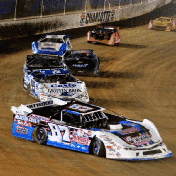 Dirt Late Models at The Dirt Track at Charlotte